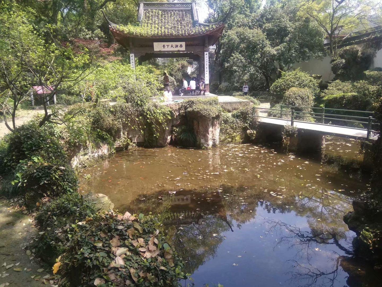 孤山的池塘
